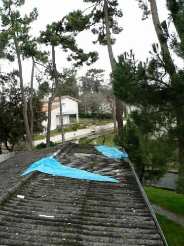 CLAIR ACCUEIL Ancien toit