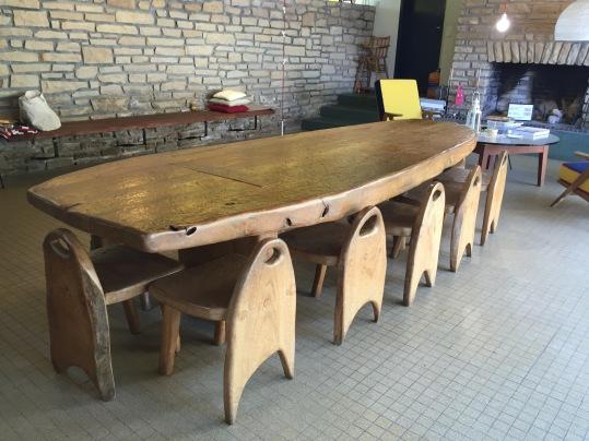 CLAIR ACCUEIL La table de Charles Flandres