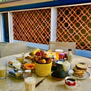 petit dejeuner chambre d'hotes